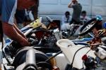 c Moldavie, Chisinau : premier championnat de karting.