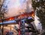 Chisinau : Incendie au centre-ville[photos]
